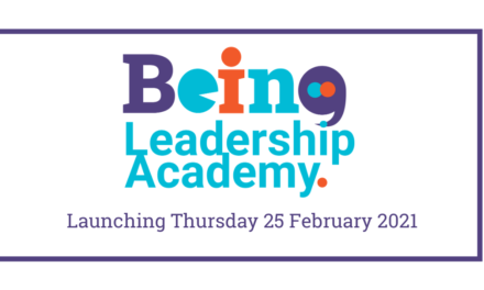 BEING Leadership Academy Launch Event Thursday, 25 February 2021
