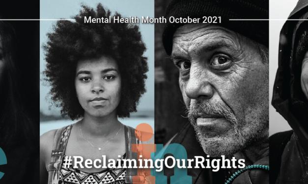 World Mental Health Day – 10 October 2021